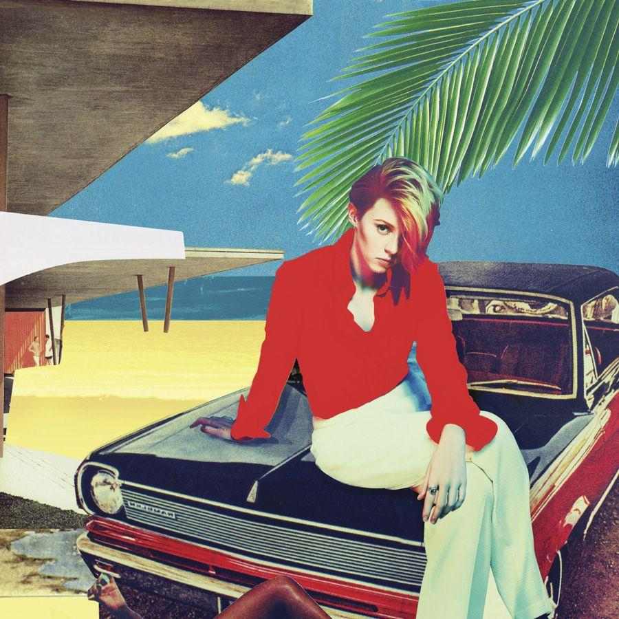 La Roux Trouble In Paradise Artwork