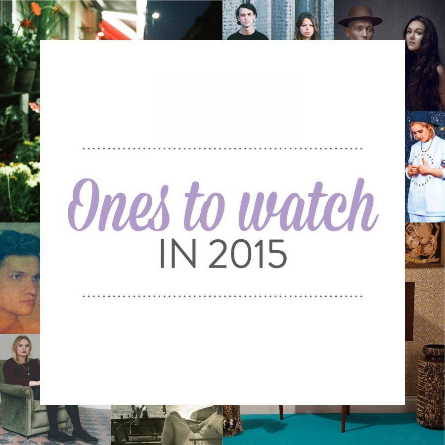 Ones to watch in 2015