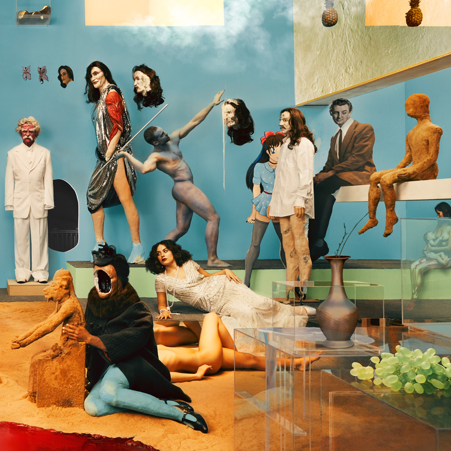 Yeasayer - Amen & Goodbye artwork